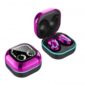New Wireless BT Headset With Watch Face And Breath Light Mini Touch In-Ear BT Earphone