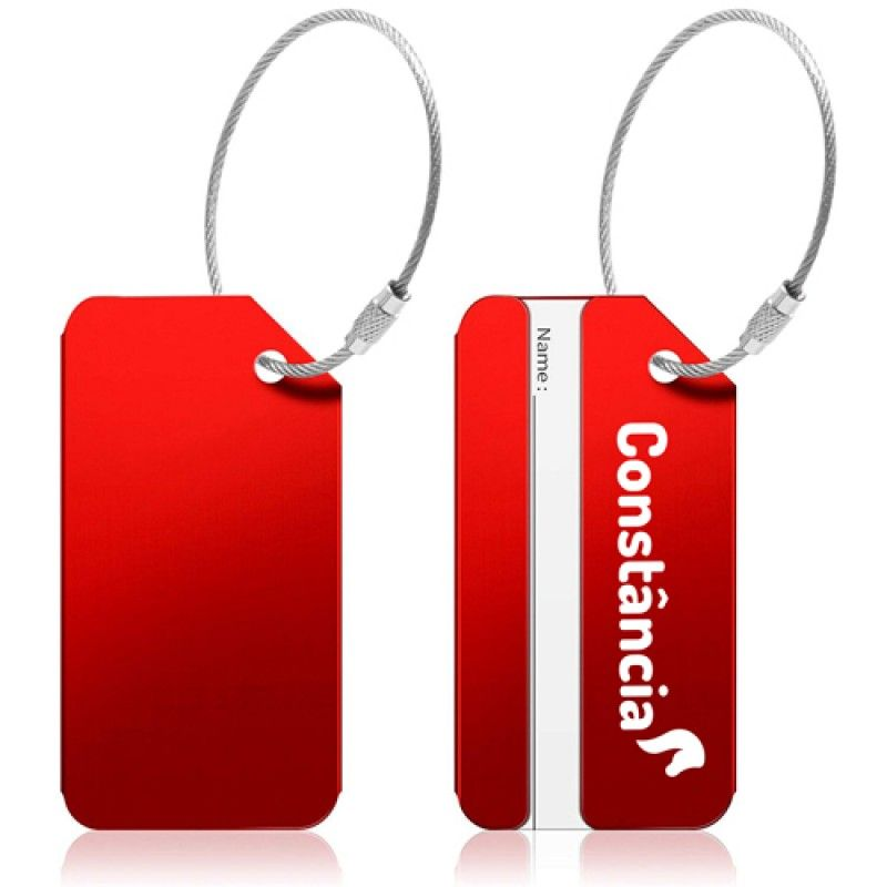 Wholesale Ace Stainless Steel Luggage Tag