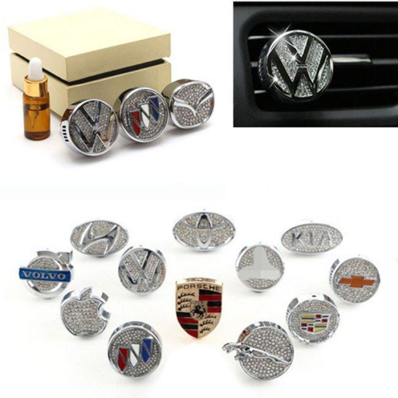 Wholesale Your Custom Shape - Luxury Perfume Air Vent Air Freshener
