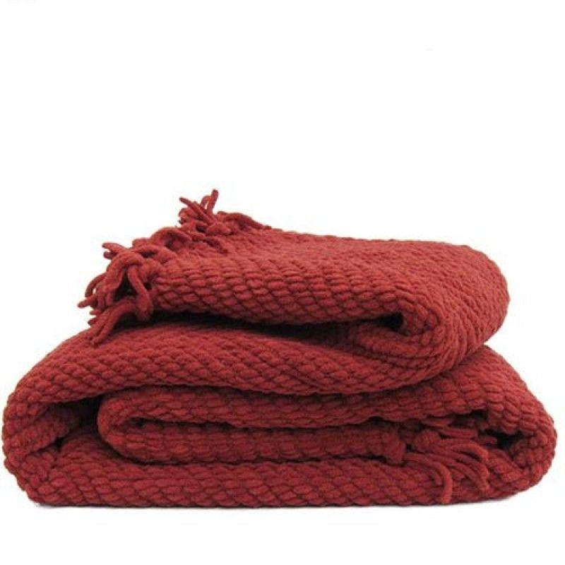 Wholesale Fluffy Travel Big Heated Bed Sofa Blanket