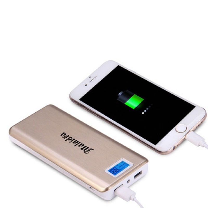 Wholesale 20000mAh Dual USB Power Bank With LCD Display