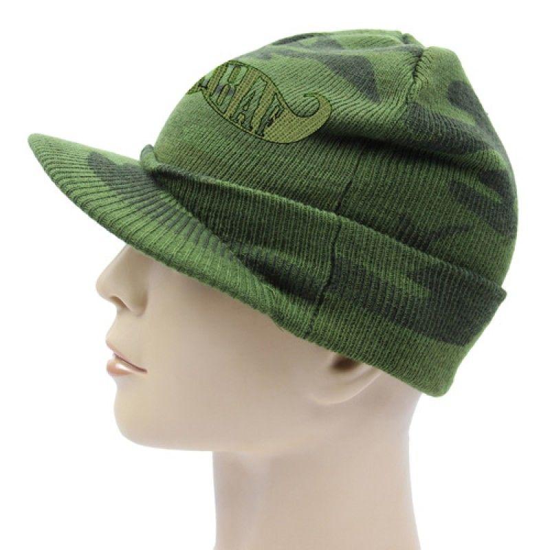 Wholesale Knit Camouflage Visor Hat