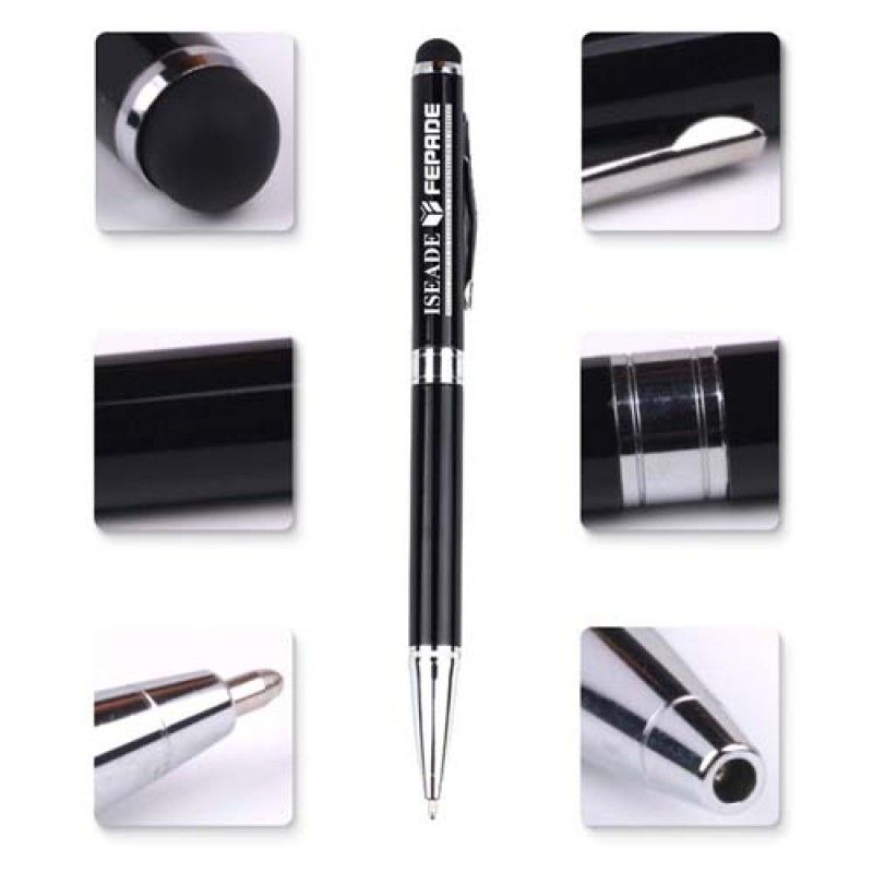 Wholesale 2 in 1Touch Screen Stylus Metallic Ball Point Pen