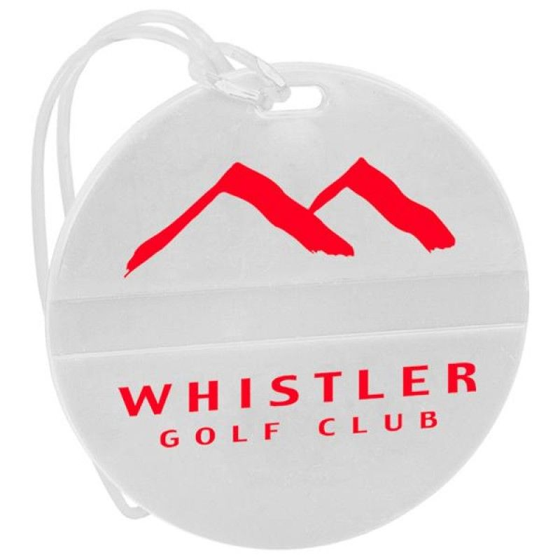 Wholesale Round Golf Bag Tag-[CP-27115]