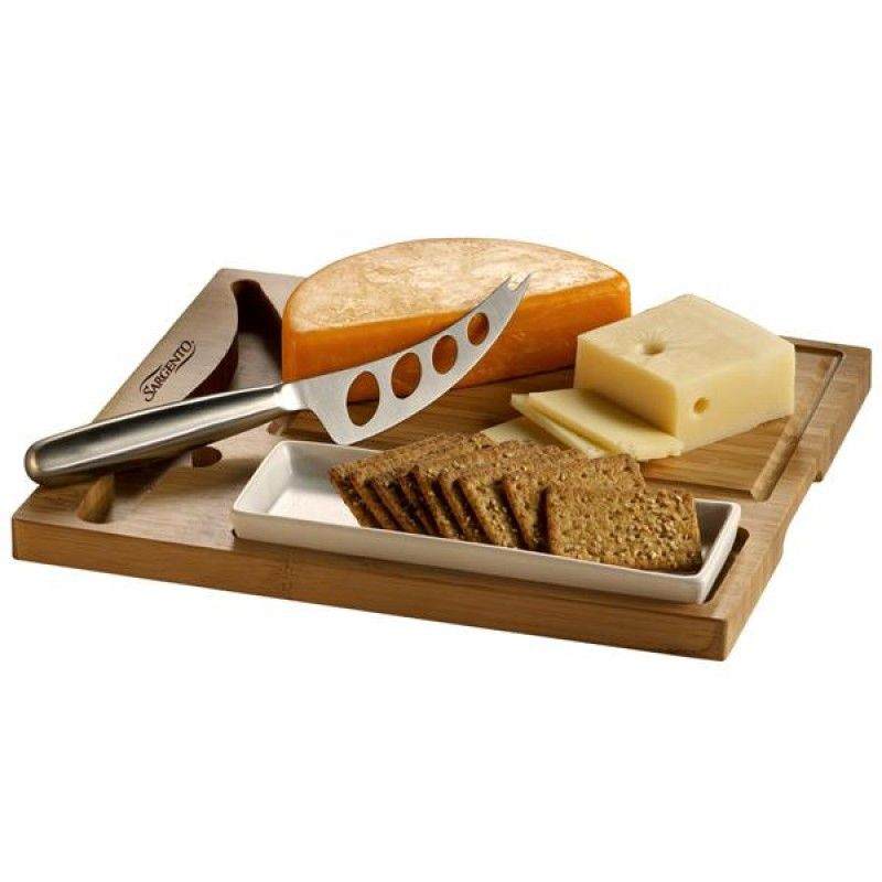 Wholesale Bamboo Cheese Server Set-[ZL-25005]