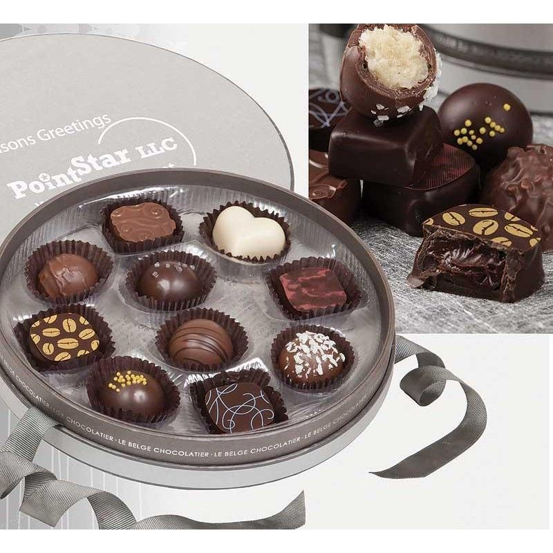 Wholesale Cirque 10 pc. Premium Handmade Belgian Chocolate Truffles-[AT-29006]