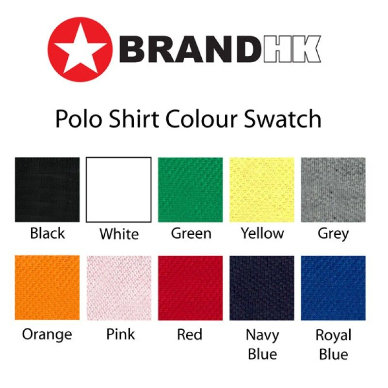 Wholesale Polo shirts w vinyl decoration