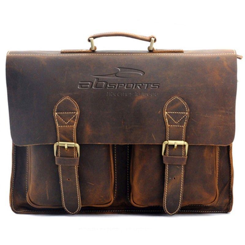 Wholesale Handmade Mens Leather Vintage Handbag