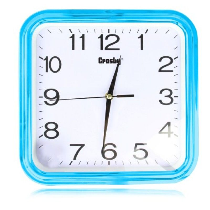 Wholesale 12 Inch Swanky Square Wall Clock