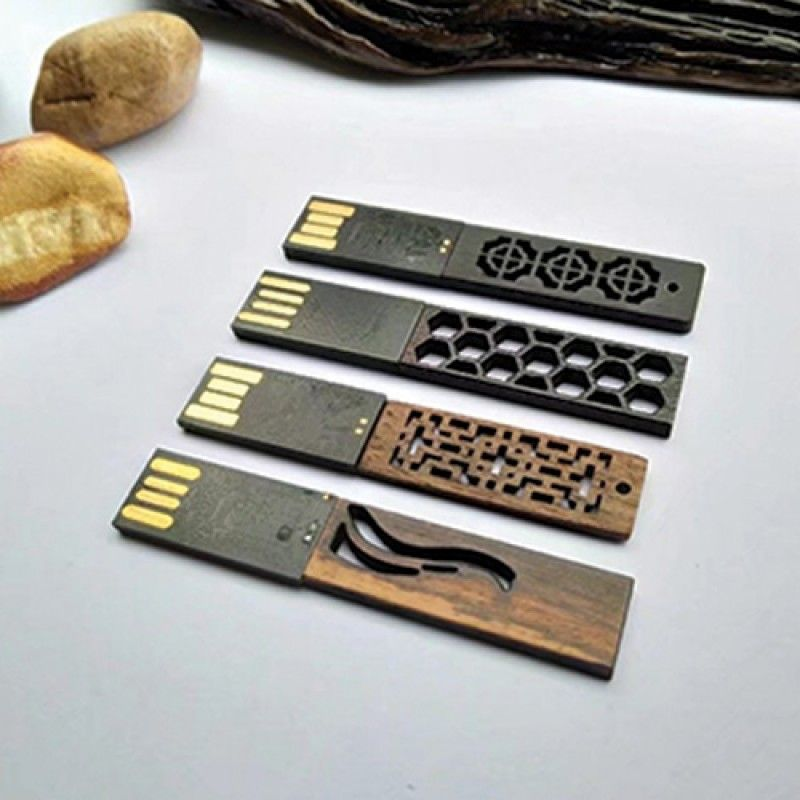 Wholesale Carved Wood USB