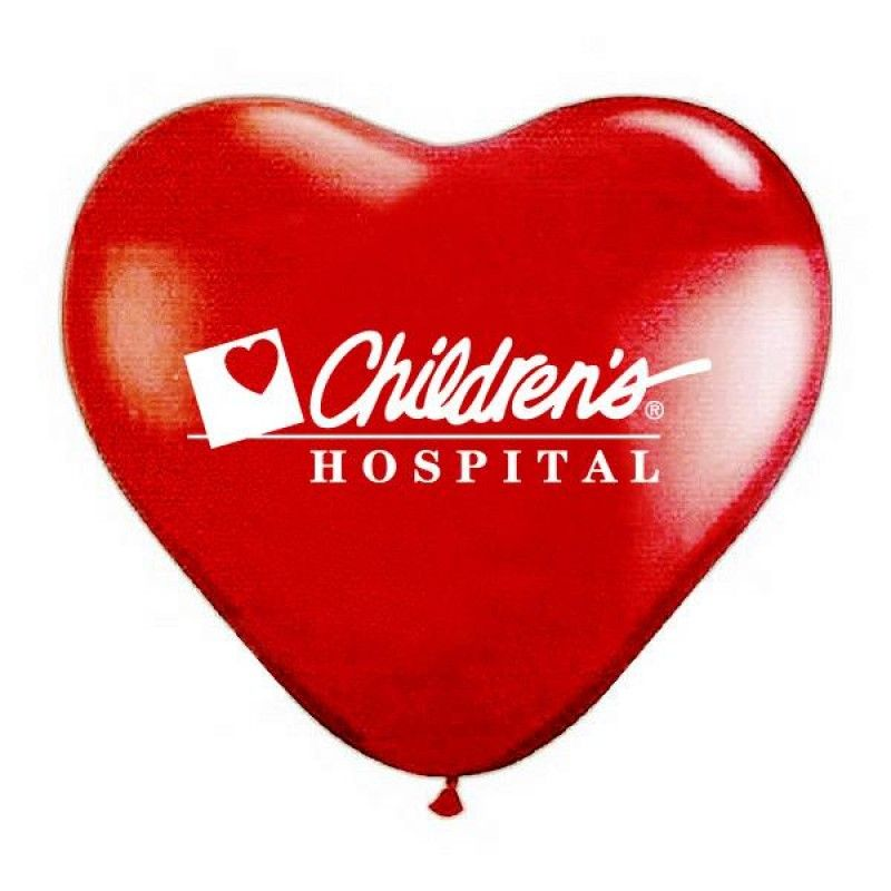 "Wholesale 15"" Jewel Fashion Colored Heart Shaped Balloons-[PB-27114]"