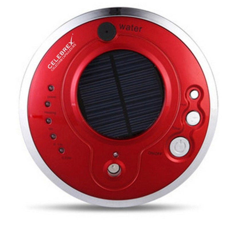 Wholesale Round Solar Car Air Purifier With Oxygen Anion