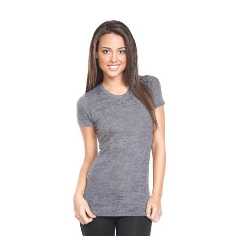 Wholesale Next Level Ladies Burnout Crew Neck-[EV-25009]