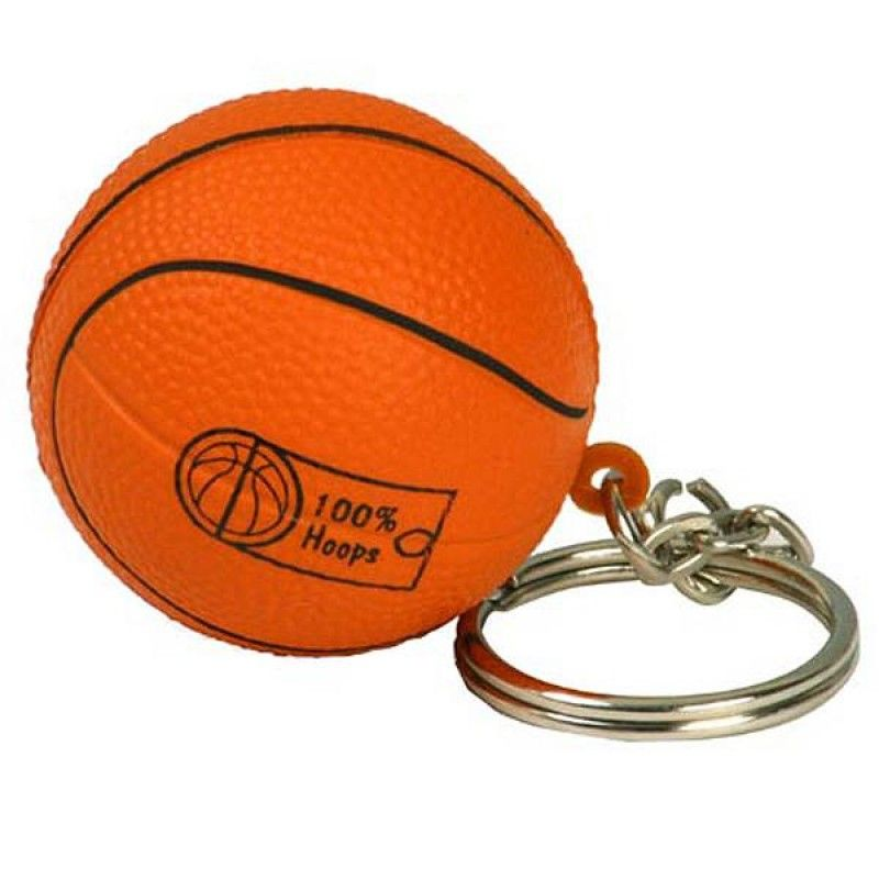 Wholesale Basketball Keychain Stress Reliever-[AL-28009]
