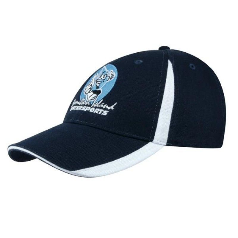 Wholesale Brushed Heavy Cotton Cap w/Inserts-[HW-28004]
