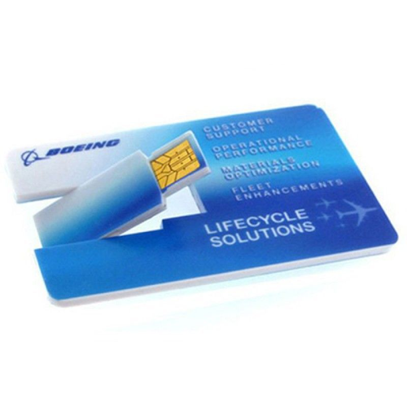Wholesale 8GB Credit Card USB Flash Drive