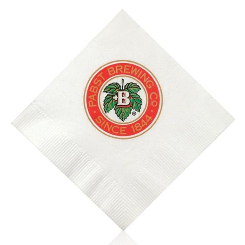 Wholesale White Beverage Napkin-[AA-27003]