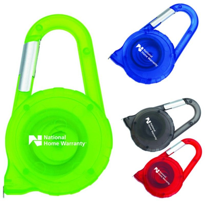 Wholesale Carabiner ABS Tape Measure