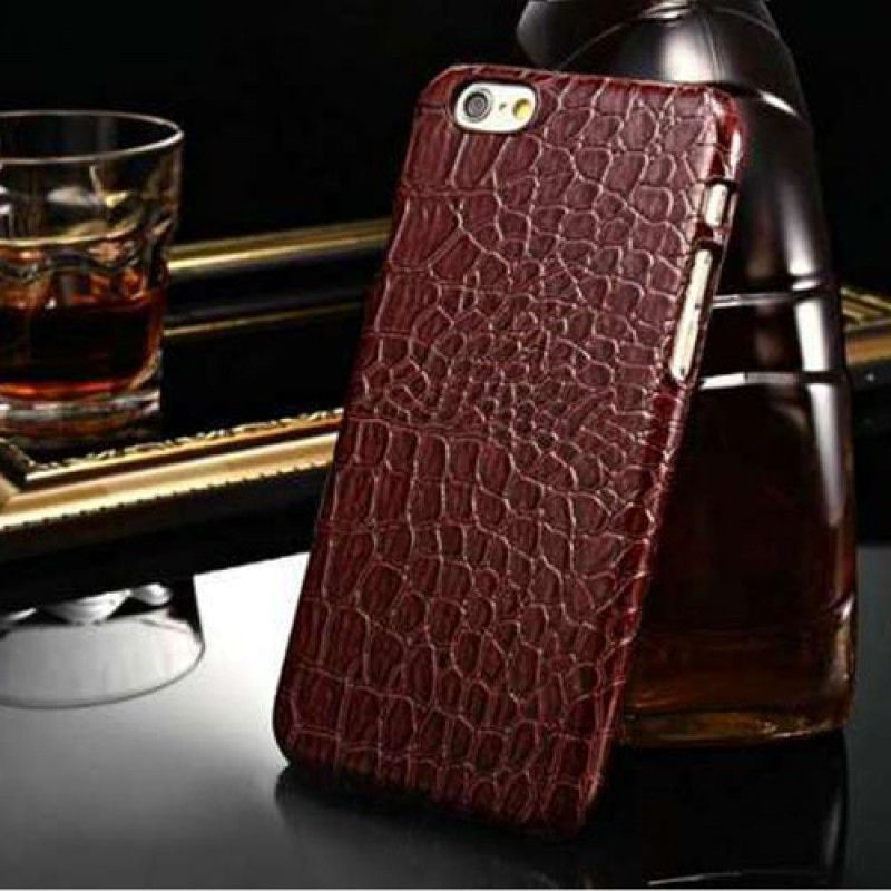 Wholesale Alligator Pattern PU Leather Hard Phone Cover
