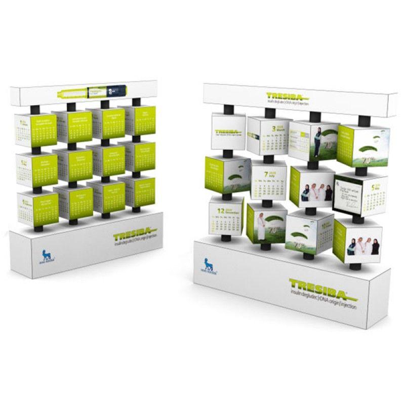 Wholesale 3x4 Revolving Calendar