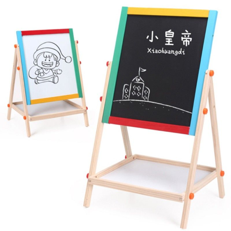 Wholesale Double Sided Wooden Magnetic Drawing Board
