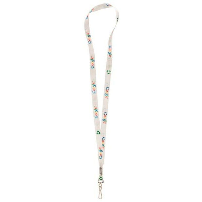"Wholesale 1/2"" Recycled Sublimated Lanyard w/J-Clip-[NW-91913]"