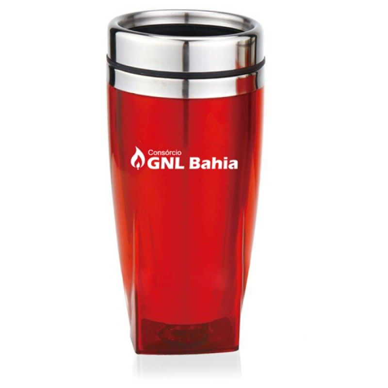 Wholesale 450ML Square Bottom Travel Mug