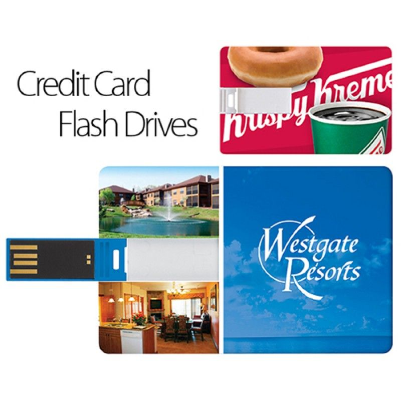 Wholesale 2GB Credit Card USB Flash Drive