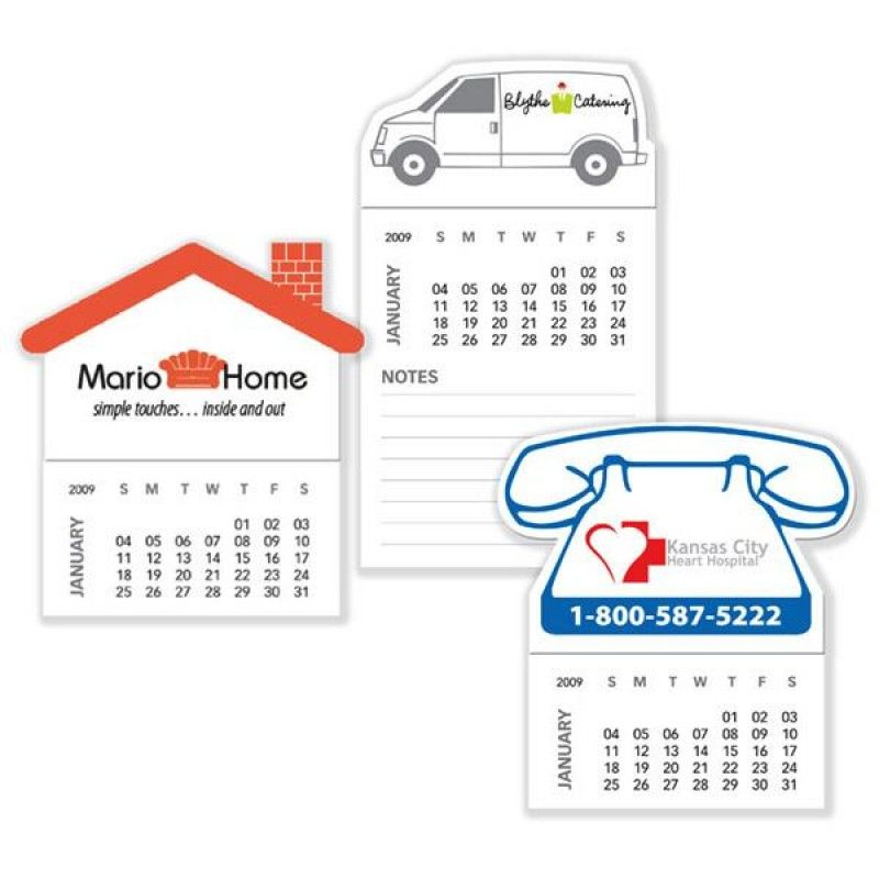 Wholesale Magnets with 12 Sheet Calendars-[BG-27123]
