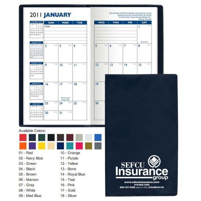 Wholesale Vinyl Monthly Planner-[RY-21916]