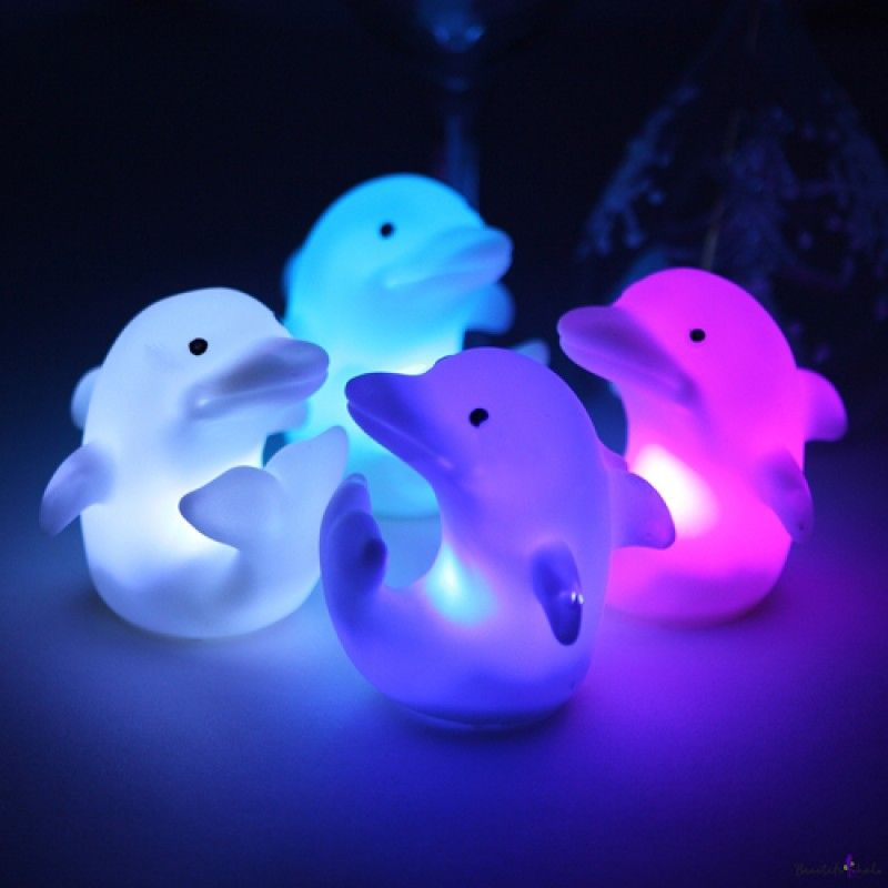 Wholesale Dolphin Color Change Decor Led Light