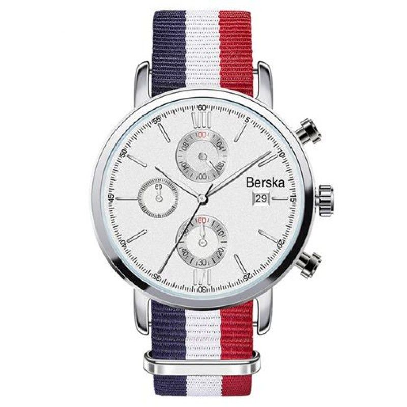 Wholesale Chronograph Nylon Strap Watch