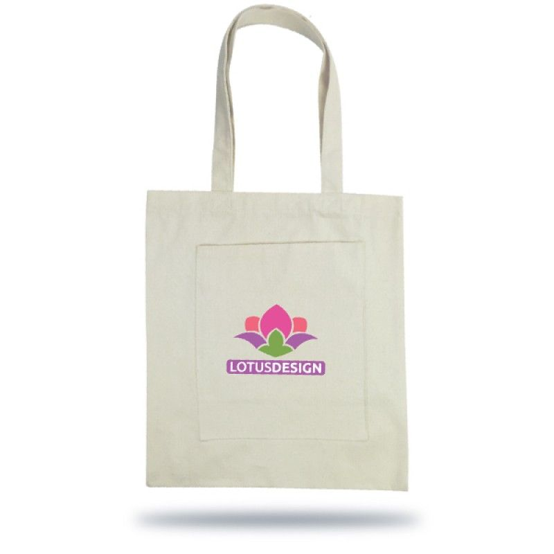 Wholesale Ariana Cotton Tote Bag with Inner Pocket