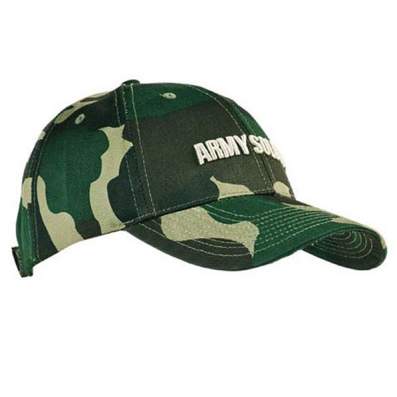 Wholesale Cotton Twill Cap w/Camouflage Print-[HW-28031]