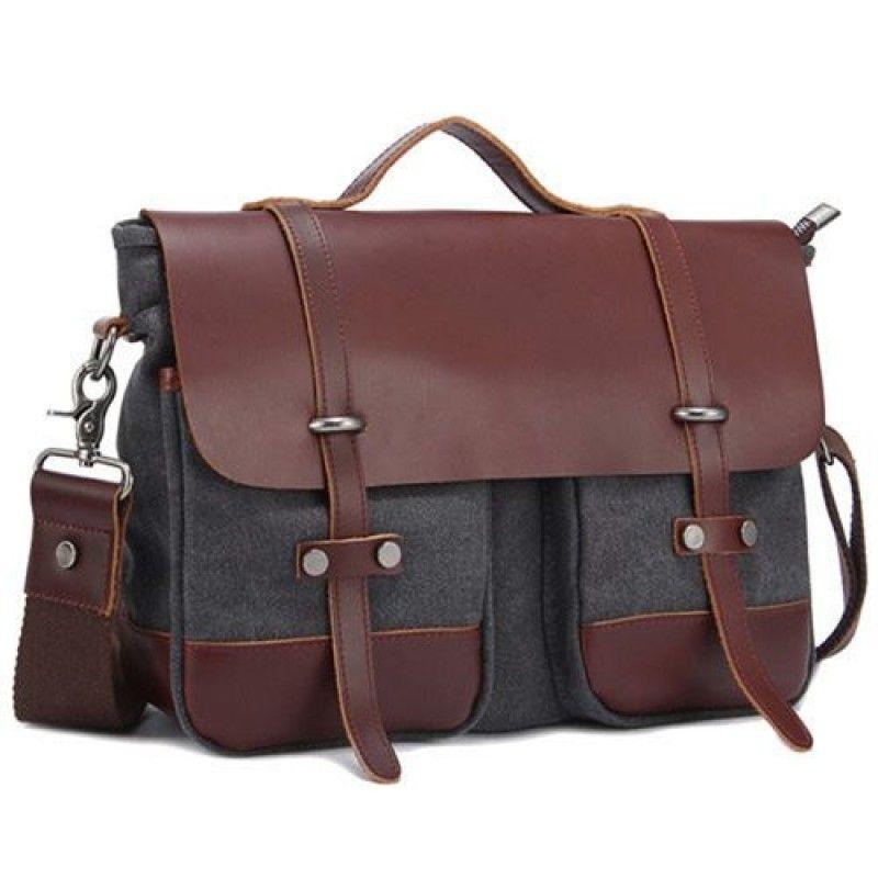 Wholesale Canvas Briefcase Bag
