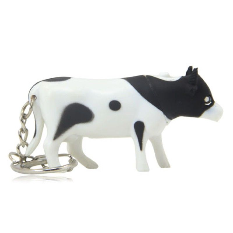 Wholesale Bull Shaped Led Keychain