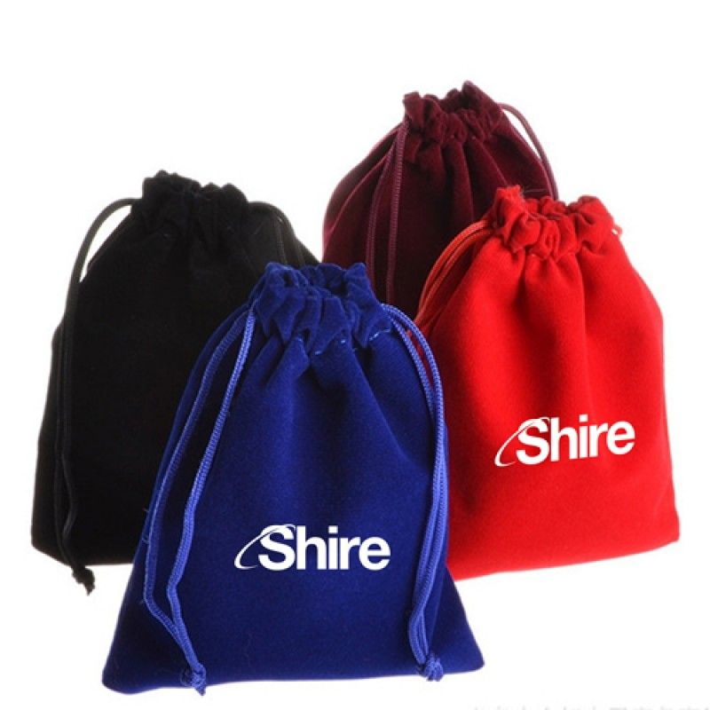 Wholesale Drawstring Lint Pouch