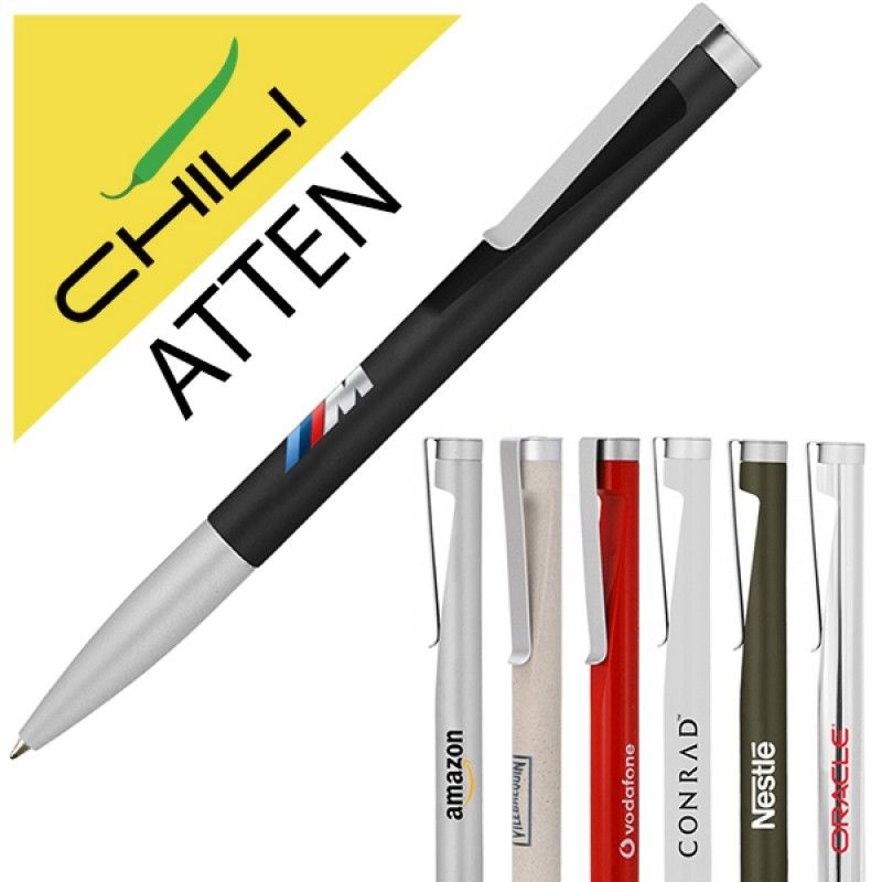 Wholesale Atten Twist Metal Ballpen