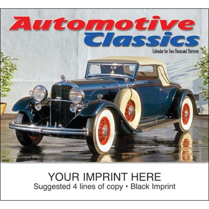 Wholesale Automotive Classics Calendar-[HL-27021]