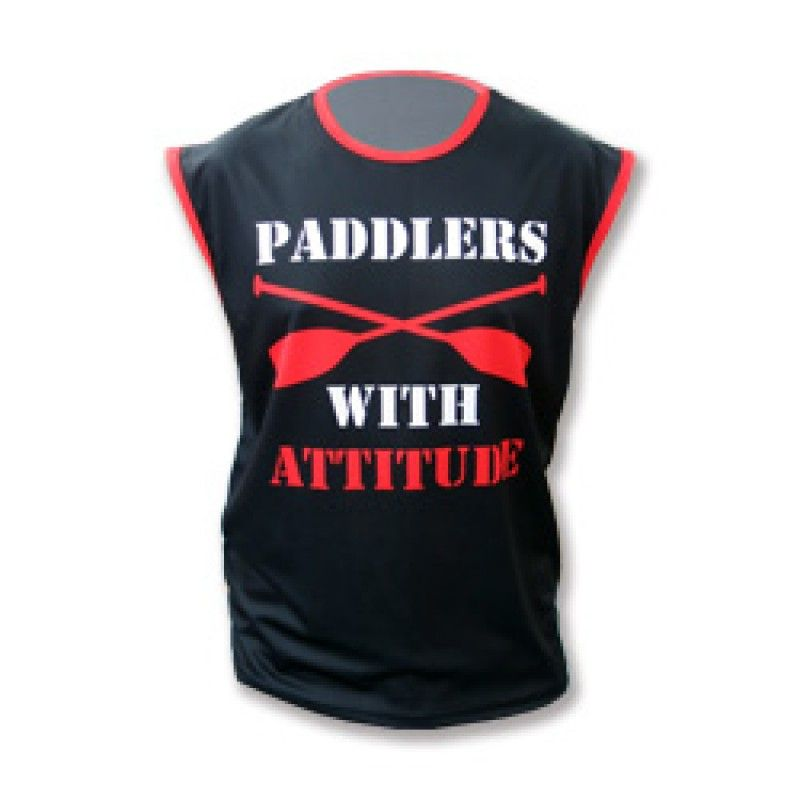 Wholesale Sleeveless Polyester T-shirt