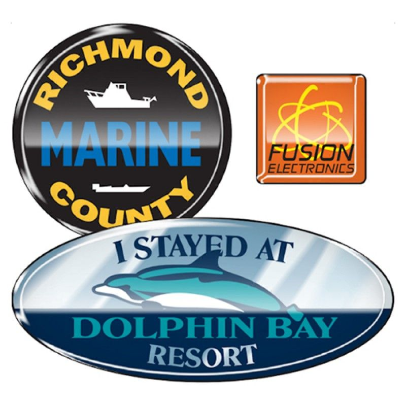 Wholesale Durable Outdoor Domed Decals