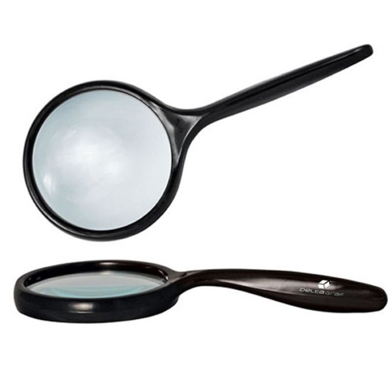 Wholesale Bent Handle 2.5 Inch Lens Magnifier