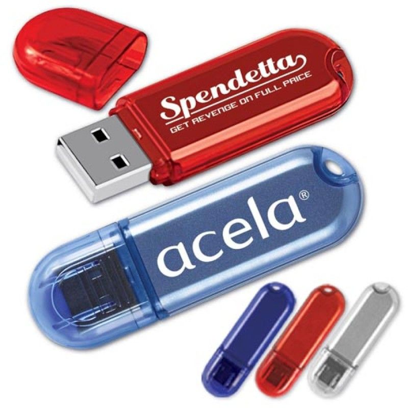 Wholesale 1GB Classy Translucent Flash Drive