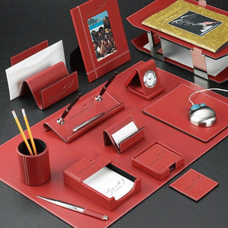Wholesale Chrome Plated Desk Pad Set