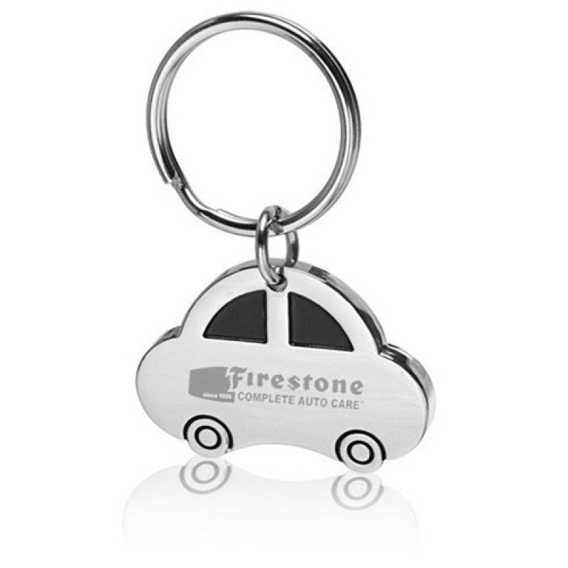 Wholesale Car Shaped Metal Keychain