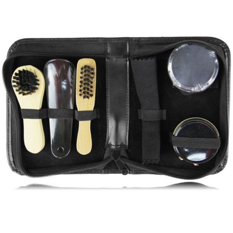 Wholesale Travel Portable Shoe Polish Kit