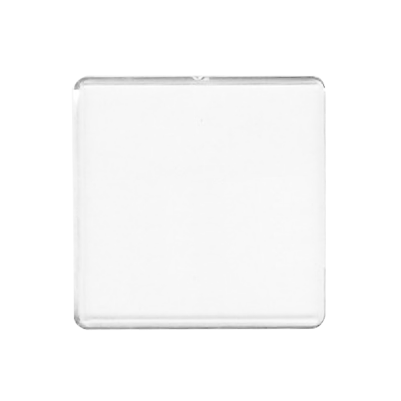 Wholesale BLANK - Snap-In Square Flat Magnet-[BW-27077]