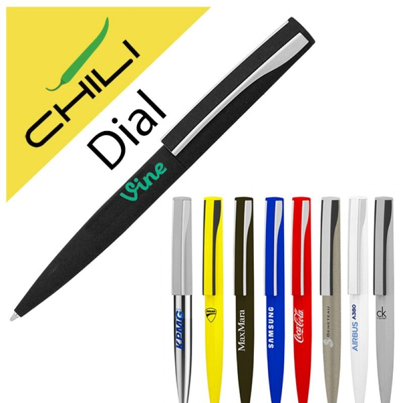 Wholesale Dial Twist Metal Ballpen