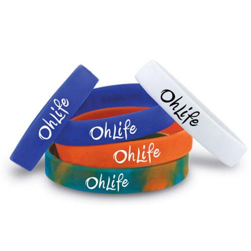 Wholesale Awareness Silicone Wristband