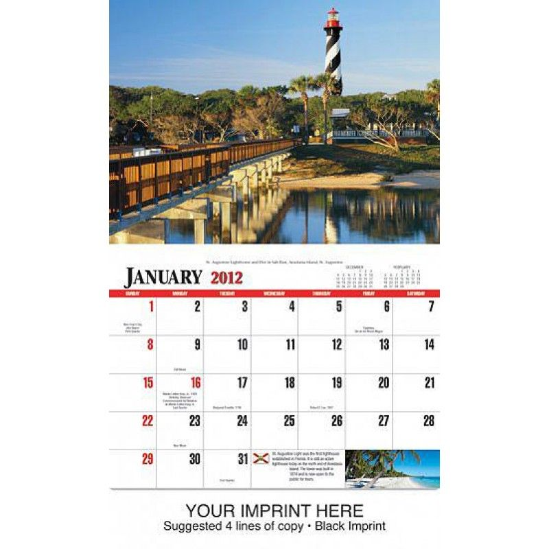 Wholesale 2Florida State Calendar-[HL-27048]
